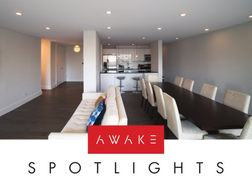 AWAKE Spotlights: Recessed Lighting System For Concrete Ceilings