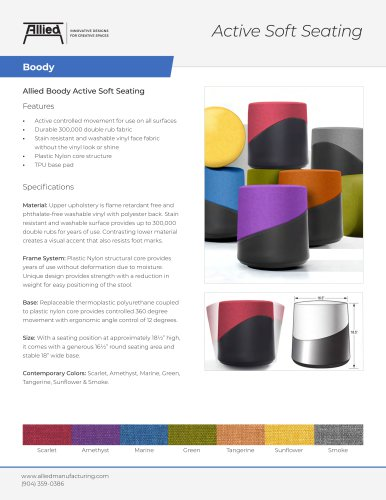 Active Soft Seating