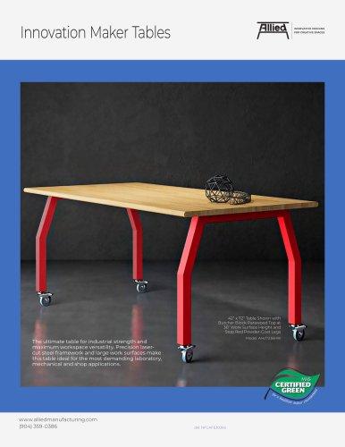 Innovation Maker Tables