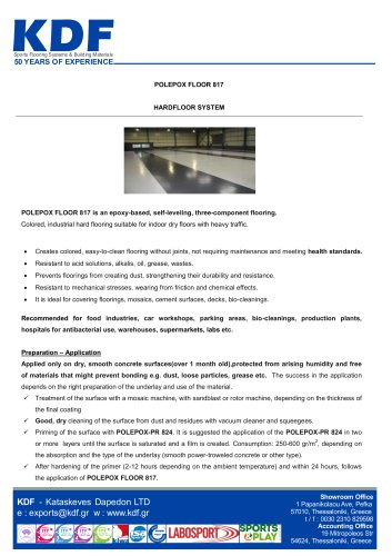 POLEPOX FLOOR 817