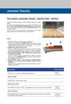 POLTRACK JOGGING TRACK SHOCK-PAD ISOPOL