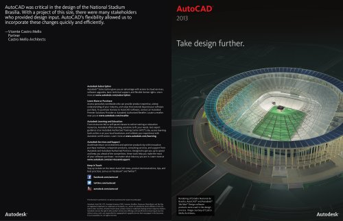AutoCAD 2013 Product Brochure