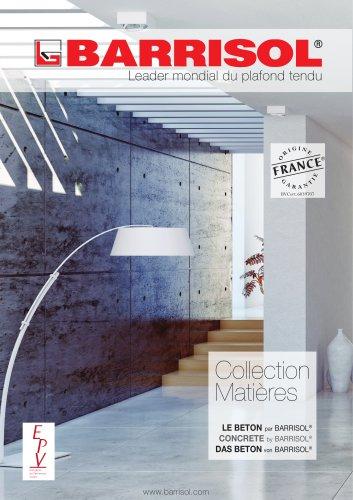 Collection Matières Concrete by BARRISOL