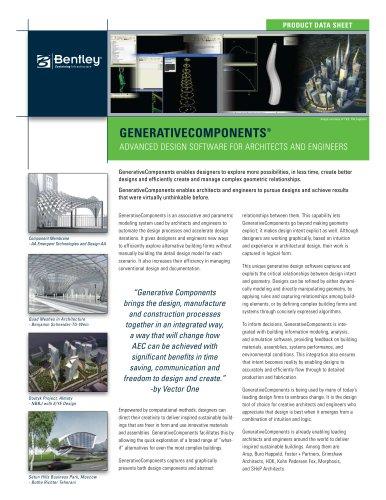 GenerativeComponents®
