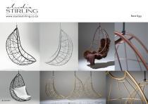 Studio Stirling NEST EGG Hanging chair brochure
