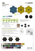 FIORI Acoustic Fabric Panel / Product Data Sheet