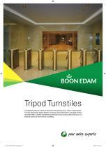 Tripod Turnstiles Product Range Brochure