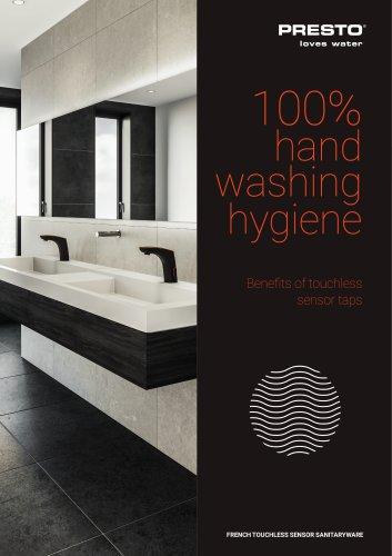 Electronic sensor taps - 100% hygiene