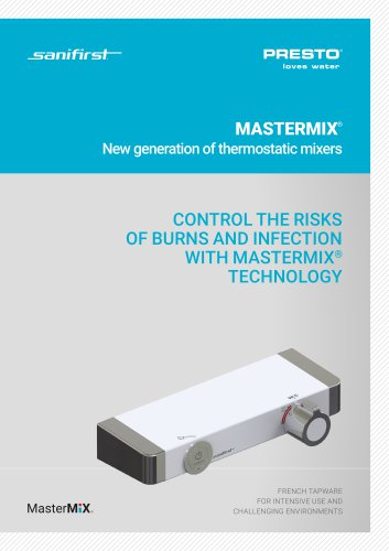 MASTERMIX - thermostatic mixers