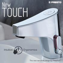 NEW TOUCH, the sensitive range by PRESTO