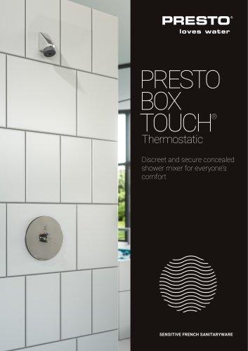 PRESTO BOX TOUCH® Thermostatic