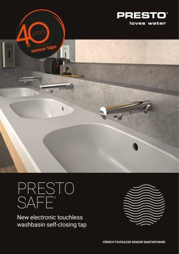 Presto SAFE® - electronic sensor tap
