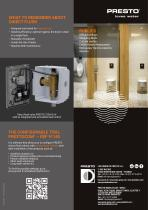 Sensor flush valves - 4
