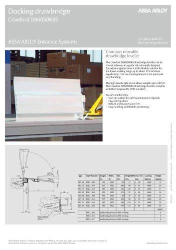 Crawford DB6050KBS drawbridge leveller