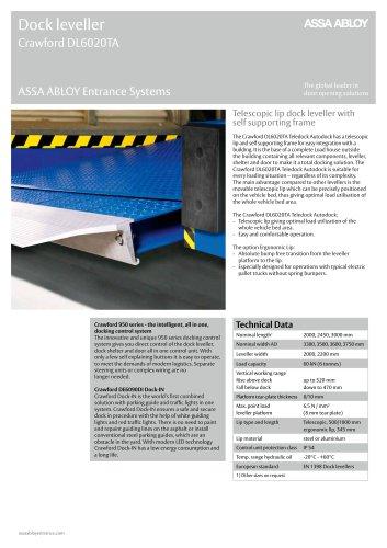 Crawford DL6020TA teledock autodock