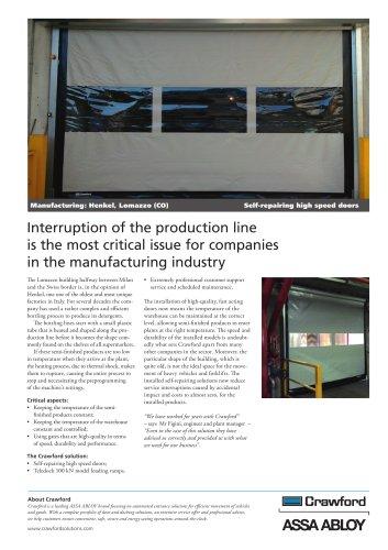 Crawford, Henkel Lomazzo Manufacturing