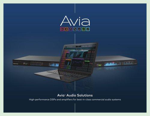Avia™ Audio Solutions Brochure