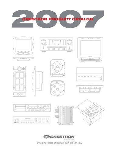 Complete Crestron Catalogue 2007