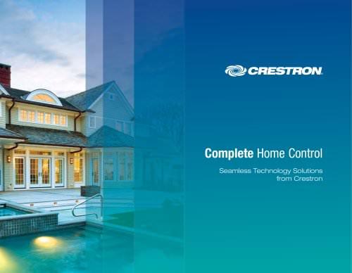 CRESTON COMPLETE HOME CONTROL 2009