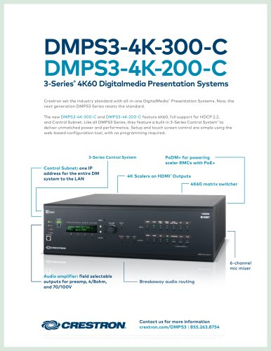 DMPS3-4K-200-C