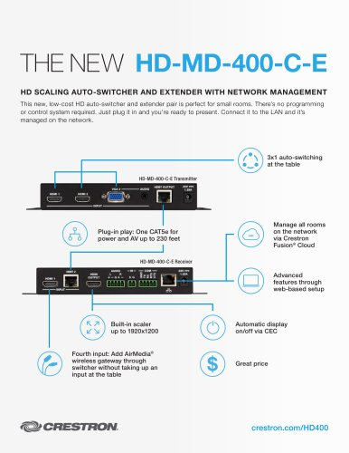 HD-MD-400-C-E