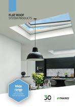 FLAT ROOF SYSTEM PRODUCTS