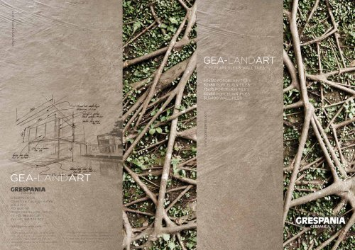GEA-LANDART- Porcelain Tiles+Wall Tiles