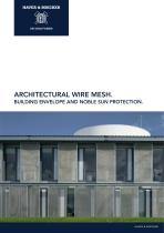 Architectural Mesh. Building Envelope and noble Sun Protection. - 1