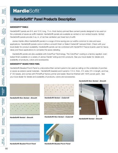 Products Installation Guide_HardieSoffit pg  66-77 - James