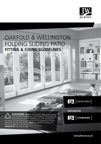 OAKFOLD & WELLINGTON FOLDING SLIDING PATIO