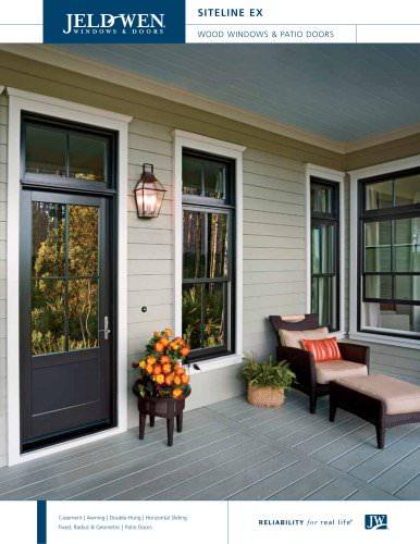 Siteline EX Windows and Patio Doors