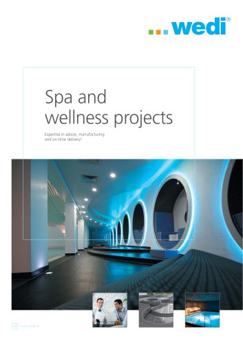 Spa and wellness projects