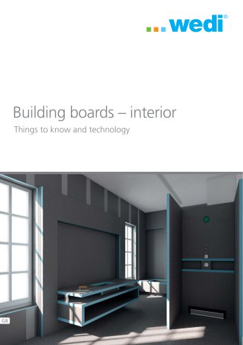 Things to know and technology - Building boards ? interior