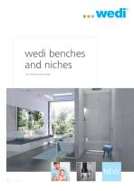 wedi benches and niches