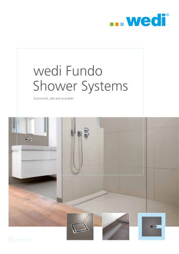 wedi Fundo Shower Systems