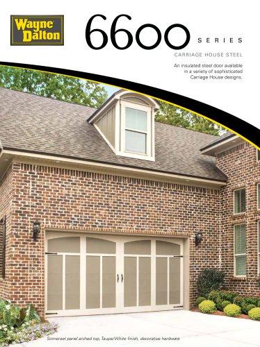 Model 6600   Carriage House Steel Garage Door