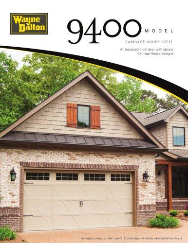 Model 9400   Carriage House Steel Garage Door
