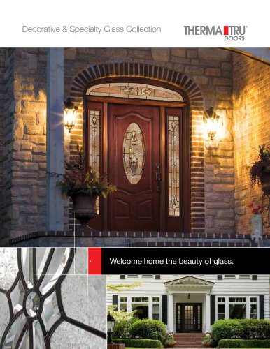Decorative and Specialty Glass Collection