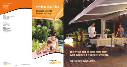 Awnings That Think Brochure