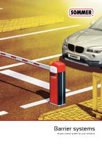 Barrier systems - 1