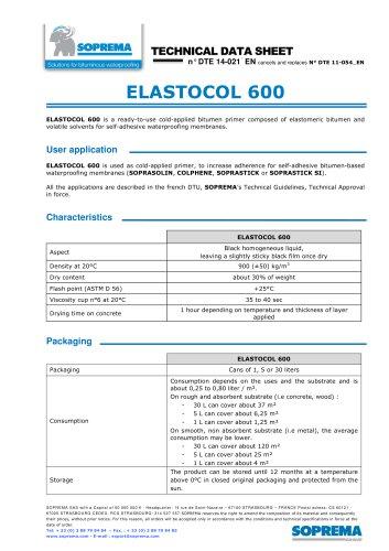 ELASTOCOL 600