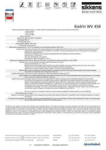 Kodrin WV 456