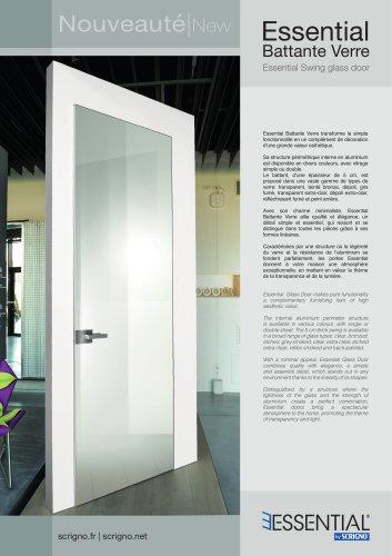Essential Swing glass door