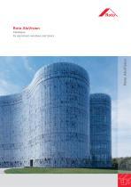 Roto Aluvision Catalogue for aluminium windows and doors