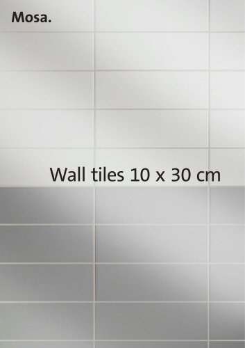Wall tiles 10 x 30 cm