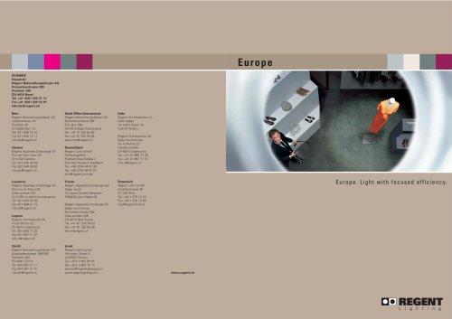 Brochure Europe