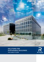 SOLUTIONS FOR SUSTAINABLE BUILDINGS - 1