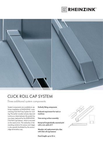 Click Roll Cap System