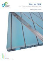 Plazcast SMR - Cast Acrylic Metal Reinforced Panel