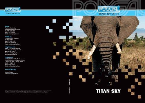 Titan Sky brochure